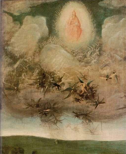 Jérôme Bosch, Le Jugement dernier, détail, vers 1500-1505•Crédits :à l'Akademie der bildenden Künste, Vienne