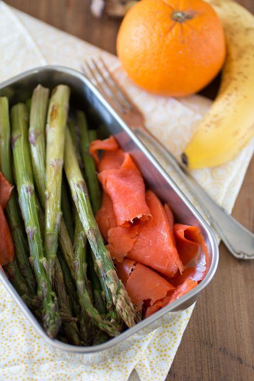 Paleo Lunch – Asperges met gerookte zalm