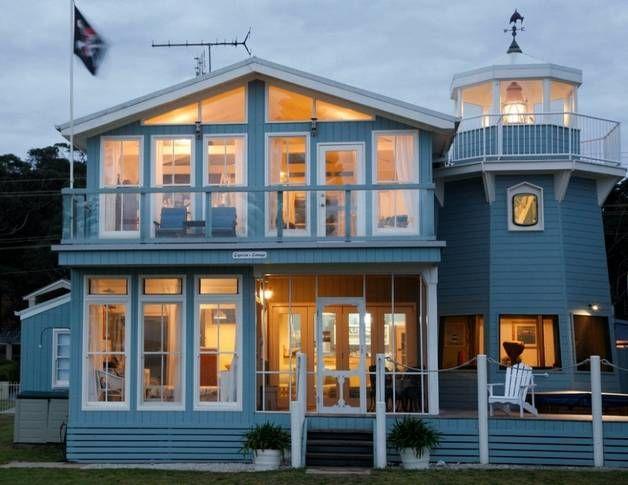 Captains Cottage and Lighthouse, a Batemans Bay 5 bedroom beachfront cottage | Stayz
