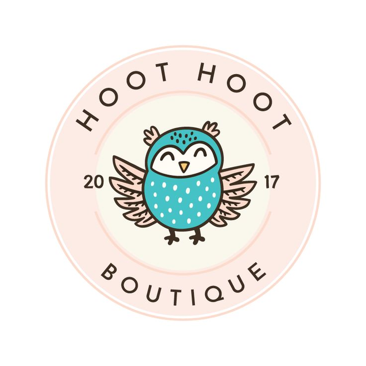 Owl Premade Logo Design - Customized with Your Business Name!