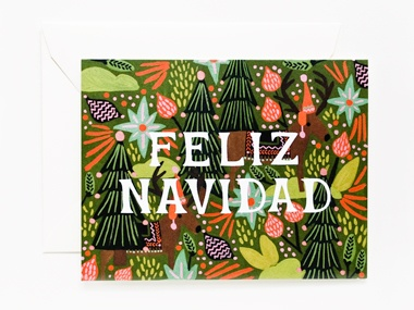 Spanish 101    Because you want to wish everyone a Merry Christmas (even if this phrase is the extent of your español).