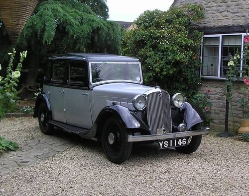 Rover 12HP Six Light Saloon 1935.