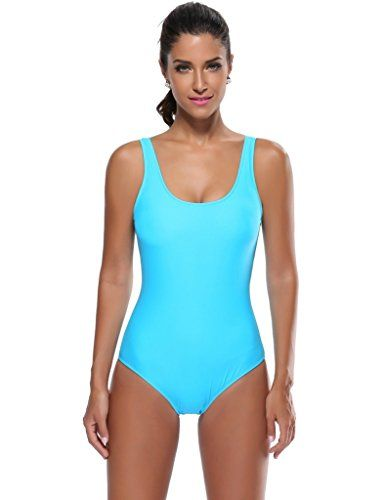 Women's One-Piece Swimsuits - Kathlena Womens Pro One Piece Athletic Bathing Suit ** See this great product.