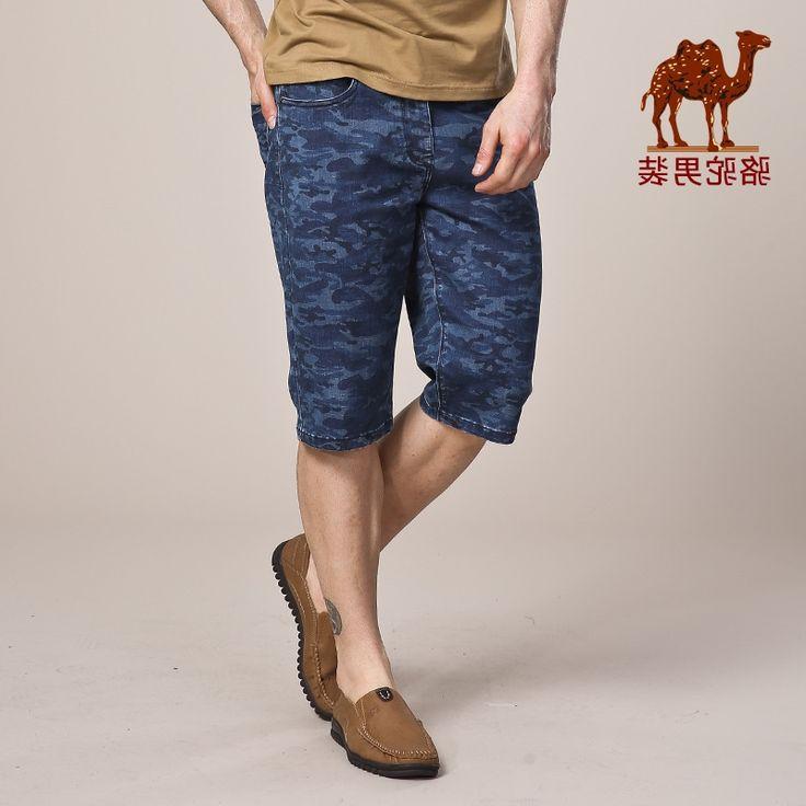 34.77$  Watch now - https://alitems.com/g/1e8d114494b01f4c715516525dc3e8/?i=5&ulp=https%3A%2F%2Fwww.aliexpress.com%2Fitem%2FCamel-men-s-clothing-2016-new-fashion-straight-popular-mid-waist-shorts-jeans-male%2F32671078326.html - Camel men's clothing 2016 new fashion straight popular mid waist shorts jeans male
