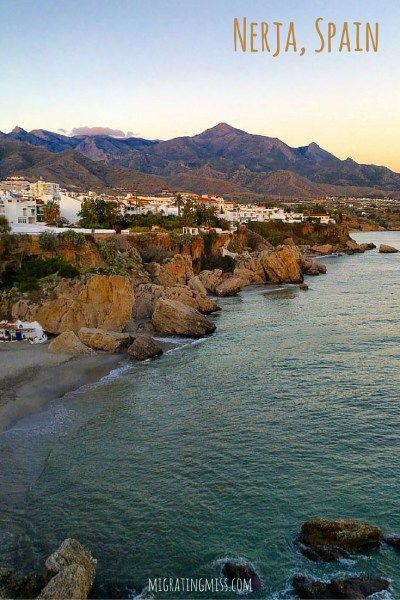 One Day in Nerja, Spain. Best Villages in Spain. Best Sunsets in Spain. Day Trips from Malaga. Most Beautiful Places in Spain. #spain #livingabroad #nerja #malaga #expat #costadelsol