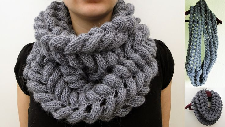 Free Knitting Pattern Mohair Cowl : Soft Mohair Cowl Pattern Knit - Cowls Pinterest Cowl patterns, Patterns...