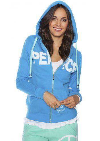 Peace Love World I Am Peace Ll Blueberry Fleece Hoodie