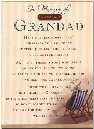 happy fathers day grandpa poems from granddaughter