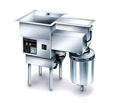 Salvajor 750-SM 2303 ScrapMaster, Scrapping, Pre-Flushing & Disposer, 7-1/2 HP, 230/3 V, Each