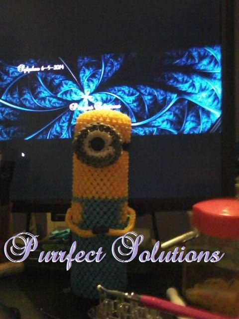 Amigurumi Minion En Francais : One of a kind minion pencil holder by PurrfectSolutions on ...