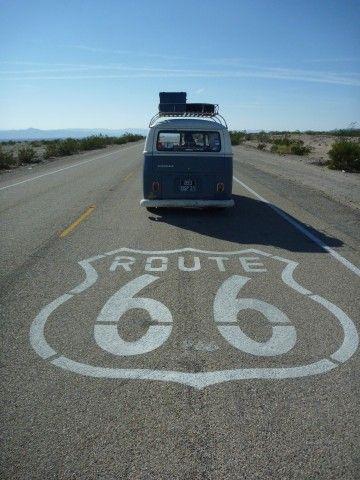 Blog :  une journée de route sur les tronçons de la route 66 en Californie.