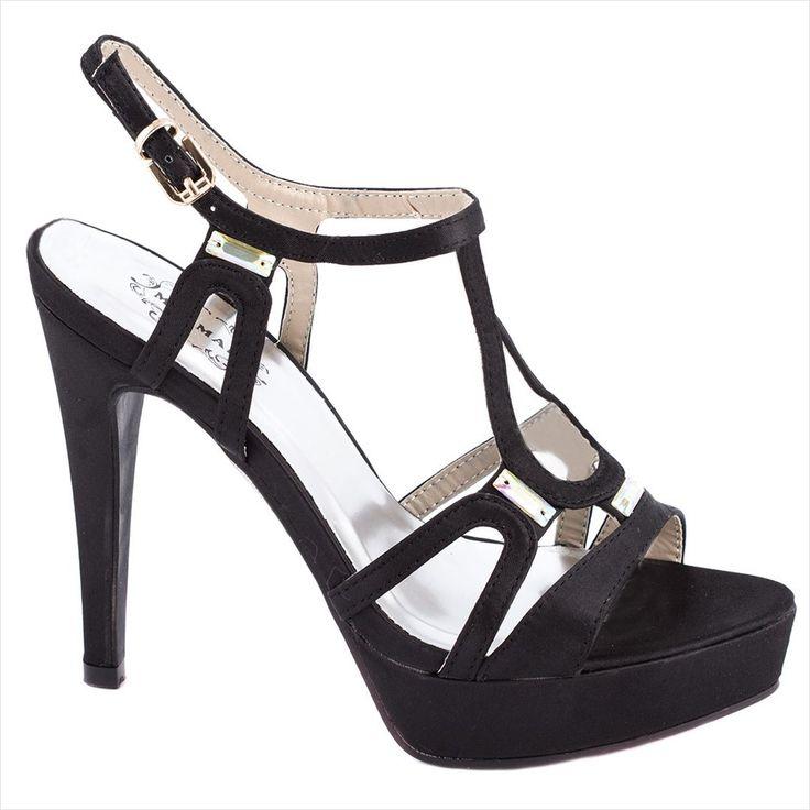Sandale de dama cu platforma 14-M41332N - Reducere 50% - Zibra