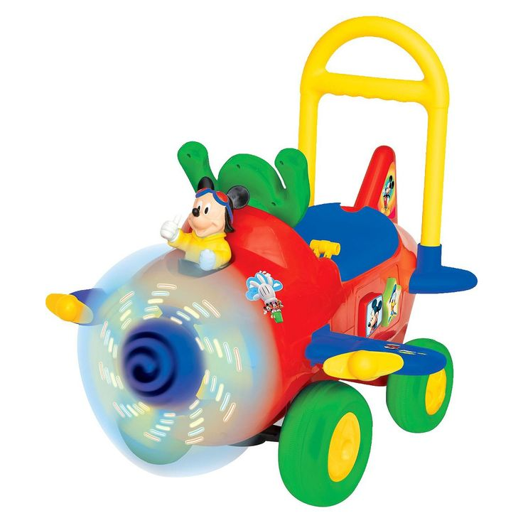 http://www.shoppingkidstoys.com/category/ride-on-toys/ Mickey Plane Ride-On Toy