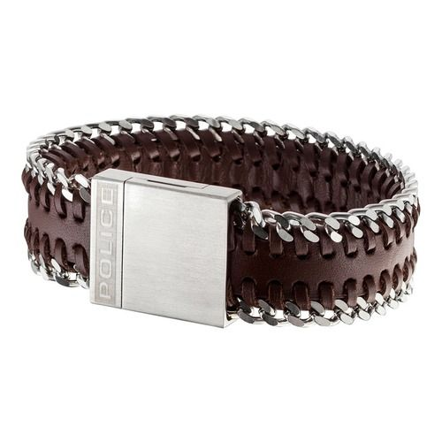 Bestellen Sie Ihr Police Armband Union Brown  im Police Schmuck Shop von The Jeweller. #leather #manstuff #jewelry #menwear #manfashion #männermode #herrenmode #armband #lederarmband