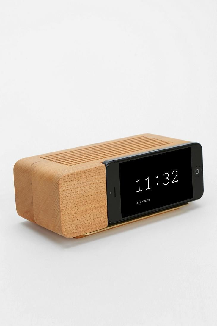 iPhone 5/5s Alarm Clock Dock #urbanoutfitters