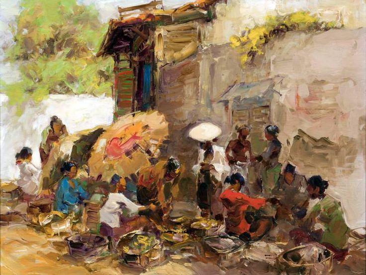 Gerard Pieter Adolfs - Pasar Surabaya
