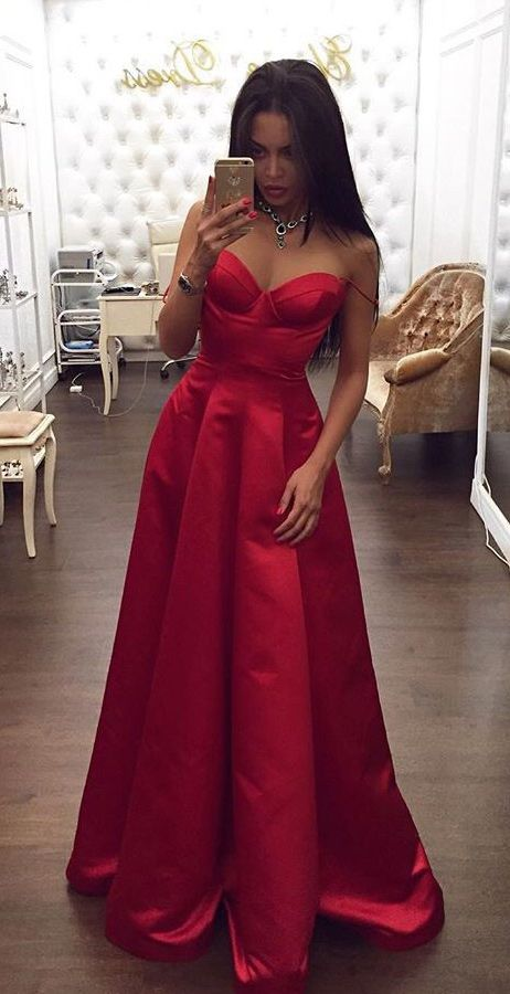 Prom Glam 2017. Ravishing in Red. Great for Grad Dress.