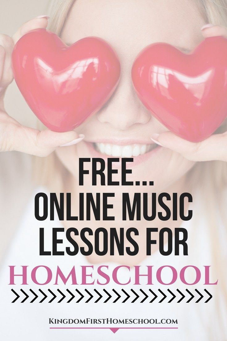 Musically Challenged? Easily teach your homeschoolers music! Check out this list of free online music lessons for kids! List of free piano, guitar, drums, and violin lessons online for kids.