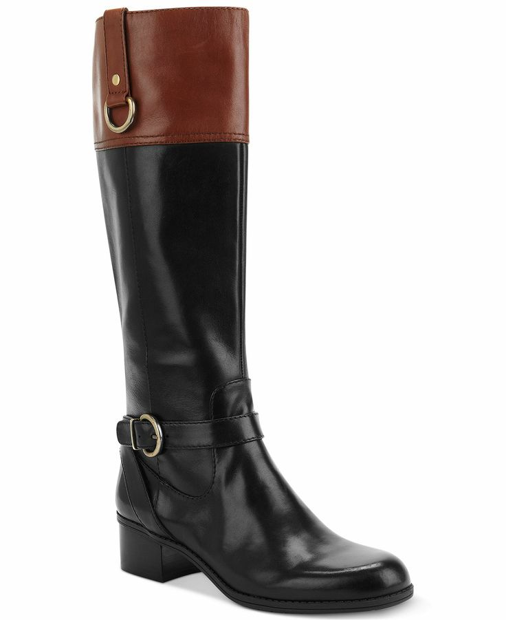 Explore black and brown boots as well as styles with metal accents like laces, faux stirrups, studs and buckles. No matter what design you prefer, you're sure to find great deals on the latest styles of women's riding boots, perfect for days running errands or nights out on the town.