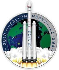 SpaceX Falcon Heavy LC-39A Demo Flight bumper or window sticker stickers