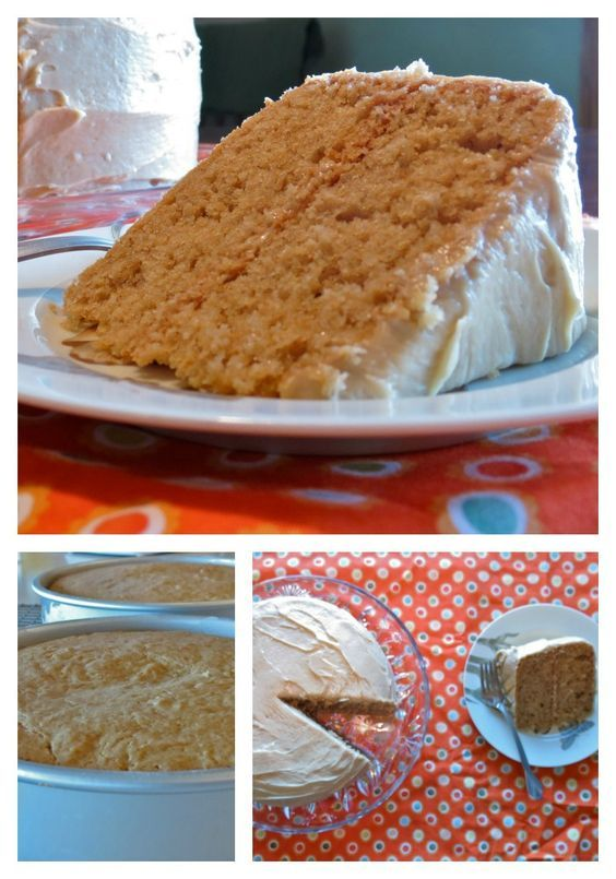 Peanut Butter Cake: A true peanut butter lover's dream cake, with peanut butter in both the cake and the frosting. #desserts #recipe