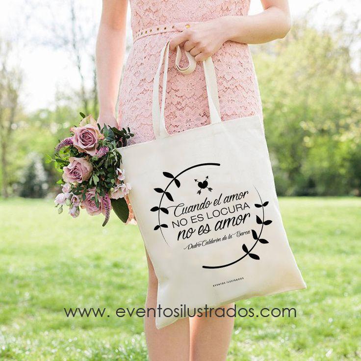 Regalo perfecto para tus amigas: bolsas de algodón, tote bag, que lucirán todos los días y se acordarán de tí!