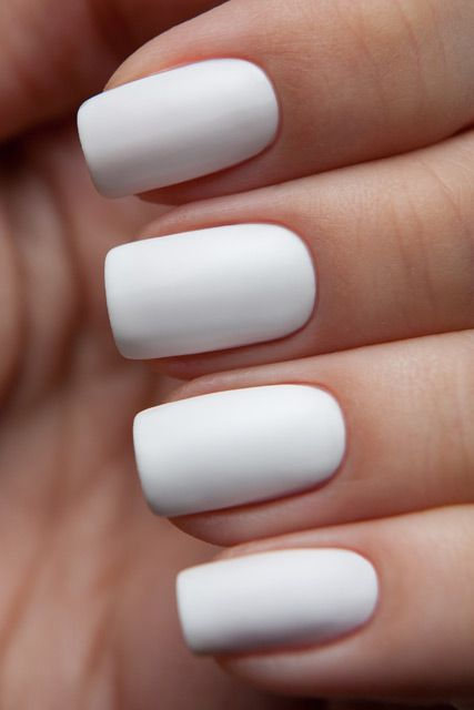 Best 25 White Acrylic Nails Ideas On Pinterest