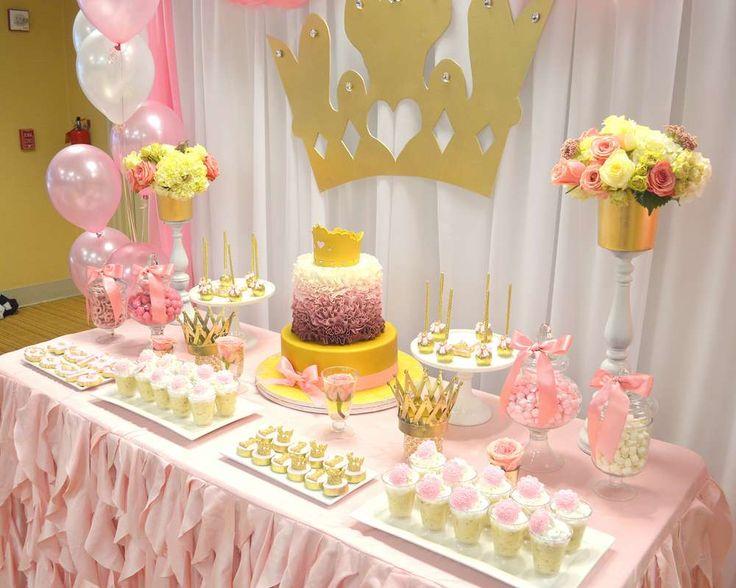 89 1st Birthday Party Princess Themes For Girls 1st Birthday