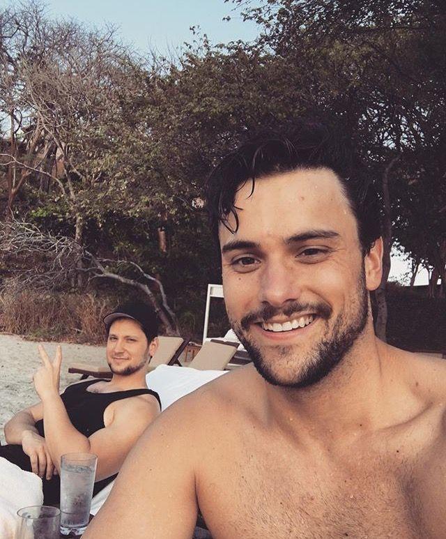 Jack Falahee & Matt McGorry in Costa Rica