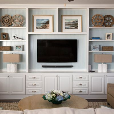The Coffey Family Home Grand Reveal: Living Room Built-Ins