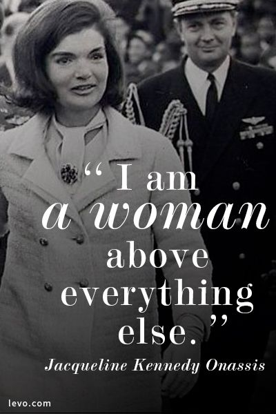 Jackie O. She was one of a kind - love my Jackie O pearls!   Order yours at kristinpinter.jewelkade.com.