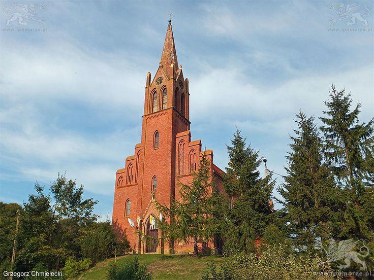 Lubin. Kościół pw. Matki Boskiej Jasnogórskiej. Stan z 11 września 2014 roku