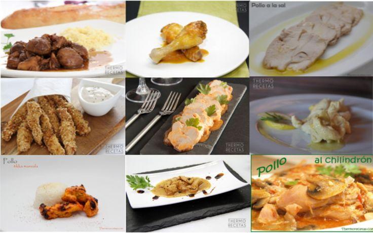 Las 9 mejores recetas de pollo - http://www.thermorecetas.com/9-recetas-cocinar-pollo/