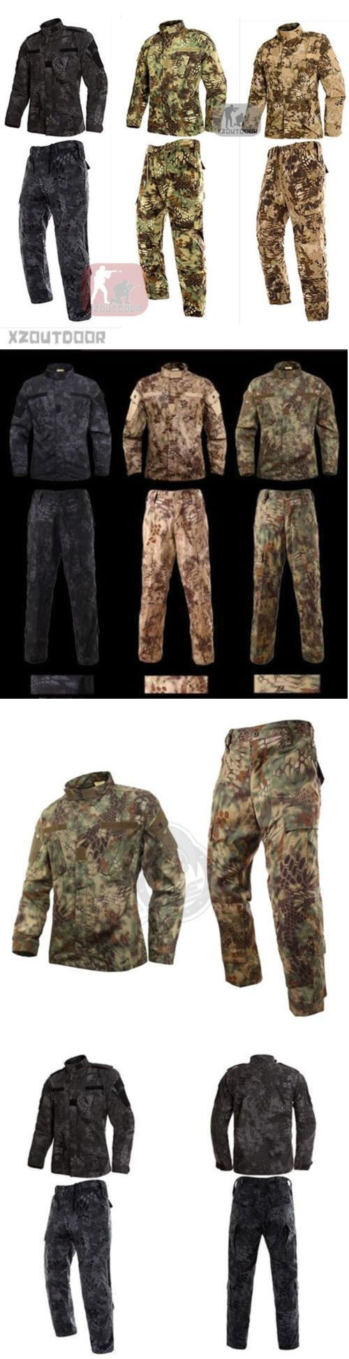 Other Hunting Clothing and Accs 159036: Mandrake Military Bdu Tactical Uniform Shirt Pants Kryptek Hunting Airsoft* -> BUY IT NOW ONLY: $31.99 on eBay!