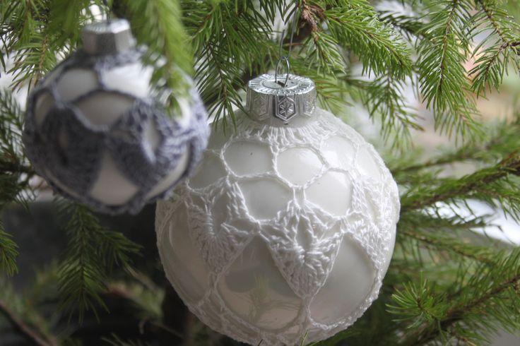 Patronen voor het omhaken van kerstballen