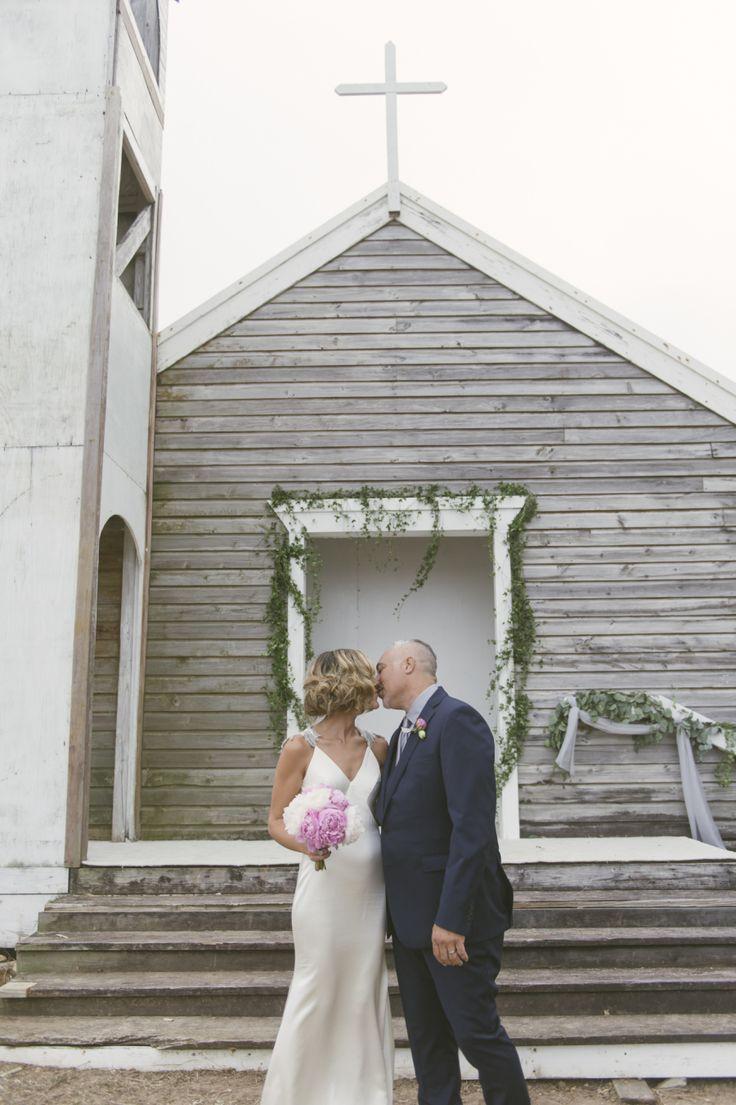 Caribbean Wedding At A Forgotten Chapel By The Beach