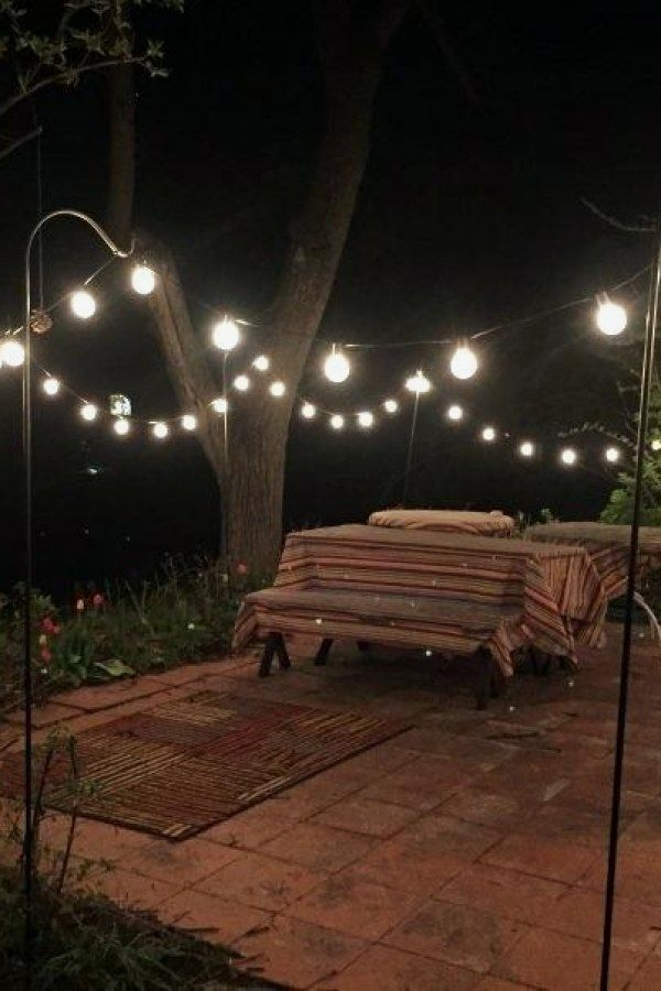 29 Easy Outdoor Light Projects You Should Consider For Your Outside Spaces Patio Lighting Outdoor Lighting Design Outdoor Furniture Decor