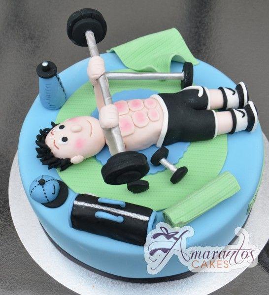 Gym Theme Cake- NC312