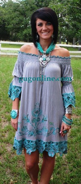Giddy Up Glamour  $79.95  Grey Serendipity Dress