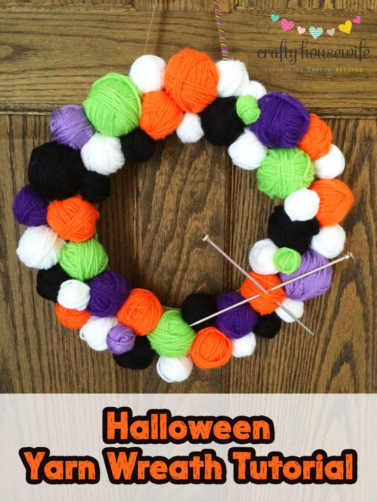 diy craft project and tutorial for a cute halloween home decor idea