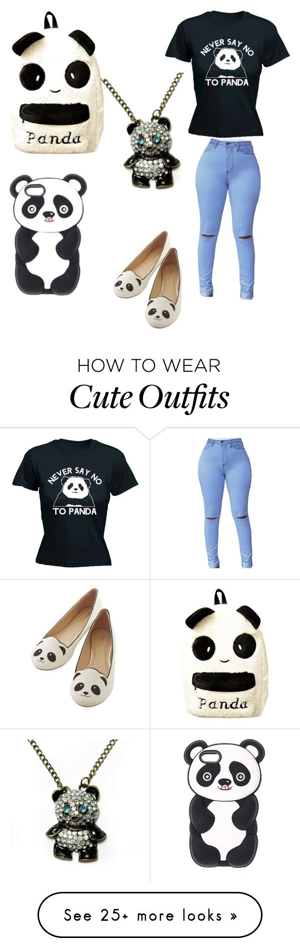 """""""Panda outfit 2"""" by pandapop263 on Polyvore"""