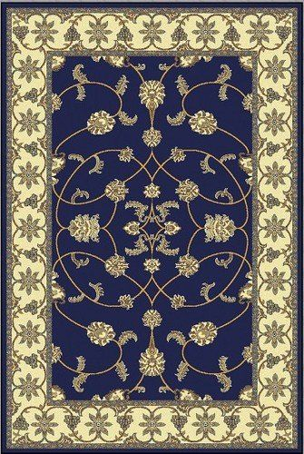 "6' x 9' Area Rug Dark Blue Traditional Persian (6'5""x 9'2""Actual) DESIGNER RUGS http://www.amazon.com/dp/B007YY6D7O/ref=cm_sw_r_pi_dp_4xMPwb1HAKD90"