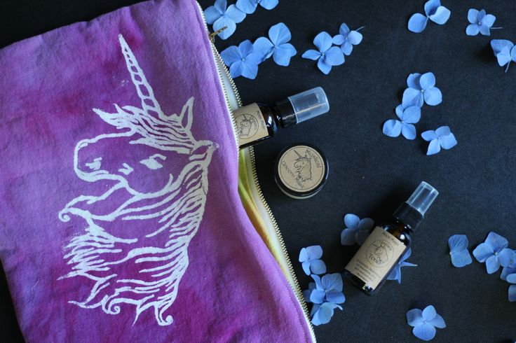 Unicorn Facial set!! All things unicorn all together for a super ... nourish with nature, for dry sensitive and mature facial care... jasmine and sandalwood