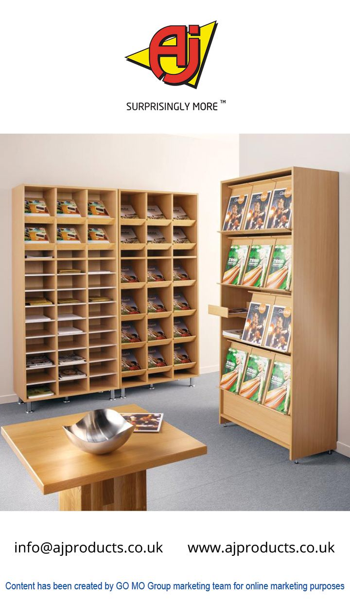 Designs From AJ Products For The Pigeon Hole Shelves Allows A Better  Efficient Storage Space And