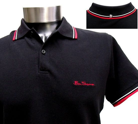 Also hot. I could sport this. Ben Sherman polo shirt