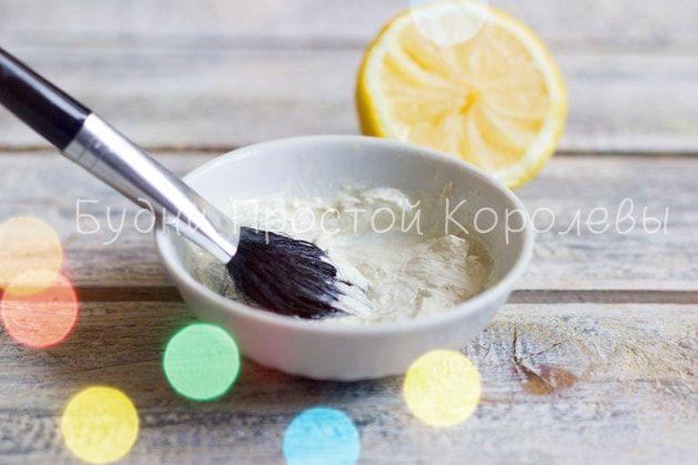 Пошаговое фото маски для лица с кокосовым маслом и глиной в домашних условиях…