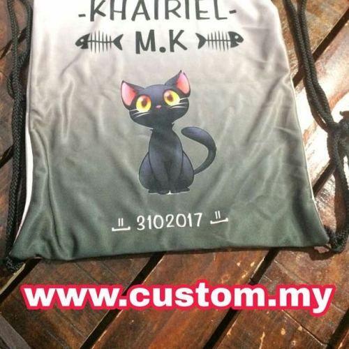 Drawstring Bag Fullprint oiiii!!  . Jom kite tengok apa yang...