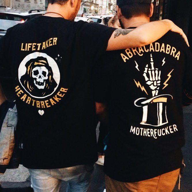 Brotherhood  . . . . . . . . #ink #illustration #print #custom #shirt #art #fun #apparel #draw #design #drawing #sketch #sketching #screenprint #clothing #420 #berlin #sharpie #pen #tattoo #traditional #tshirt #black #artwork #ftp #biker #handmade #printmaker #printmaking #surf