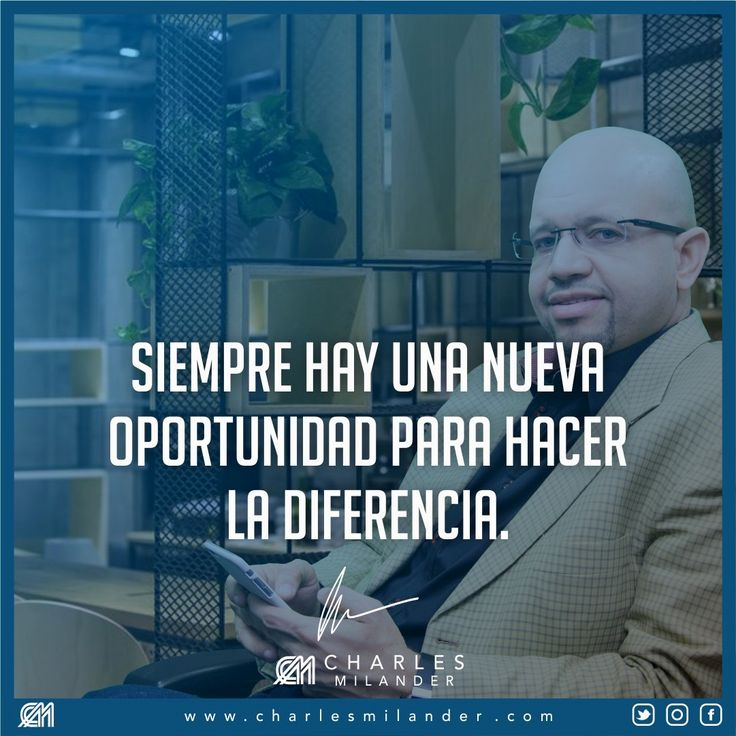 Siempre hay una nueva oportunidad para hacer la diferencia. #emprendedores #business #trabajo #metas #luxury #dinero #motivacion #networking #exito #liderazgo #negocio #money #vida #sueño #motivation #libro #libros #lectores #books #amor #frases #motivational #lifestyle #entrepreneur #entrepreneurs #entrepreneurship #entrepreneurlife #newyork #nyc #newyorkcity