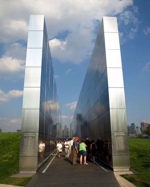 empty sky memorial liberty state park | EMPTY SKY 9/11 Memorial, Liberty State Park, New Jersey | Flickr ...